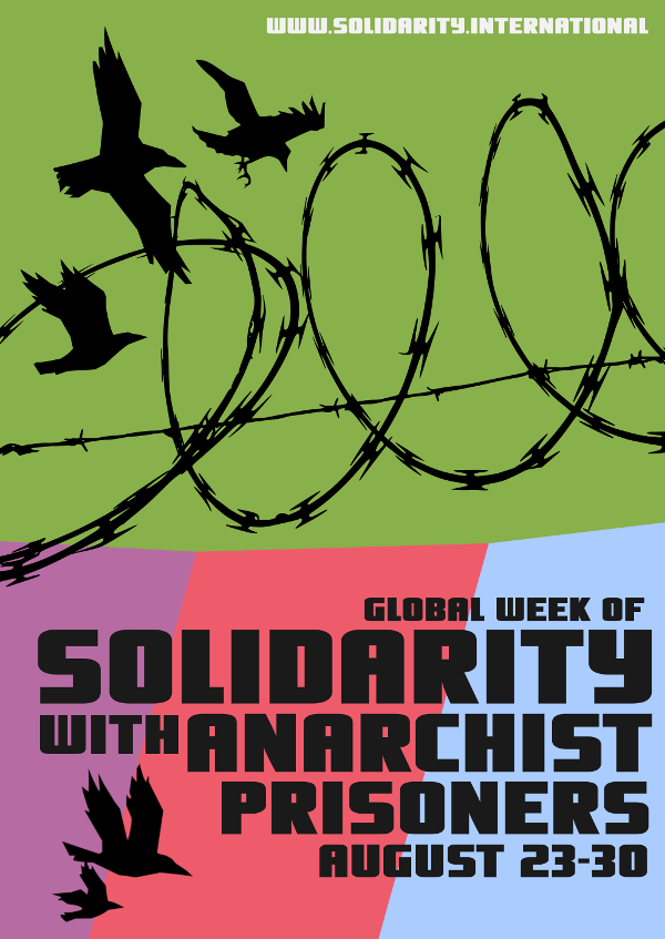 Anarchist prisoners solidarity 2018